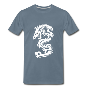 Dragon Premium T-Shirt - steel blue