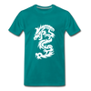 Dragon Premium T-Shirt - teal