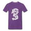 Dragon Premium T-Shirt - purple