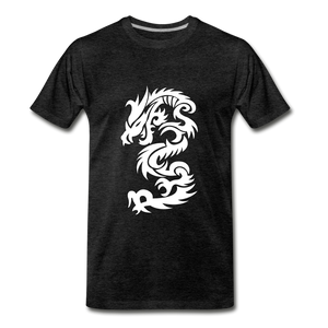 Dragon Premium T-Shirt - charcoal gray