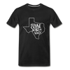 The Lone Star State Premium T-Shirt - black