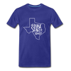 The Lone Star State Premium T-Shirt - royal blue