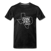 The Lone Star State Premium T-Shirt - charcoal gray