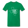 The Lone Star State Premium T-Shirt - kelly green