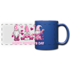 Gnome Mom Trio Full Color Panoramic Mug - royal blue