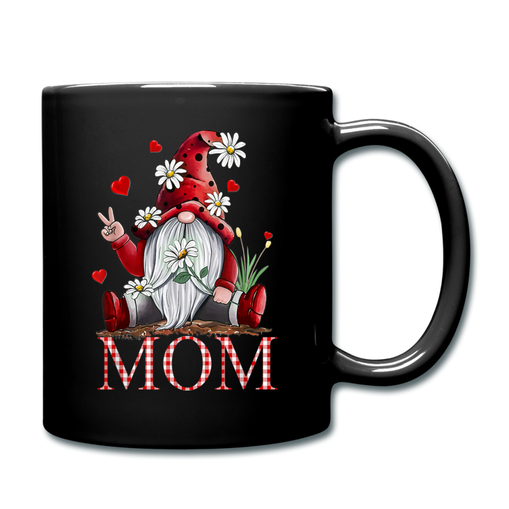 Gnome Mom Full Color Mug - black