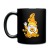 Sunflower Gnome Full Color Mug - black