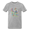 Gnome Love Autism Awareness Premium T-Shirt - heather gray
