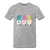Spring Gnome Trio Premium T-Shirt - heather gray