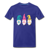 Spring Gnome Trio Premium T-Shirt - royal blue