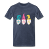 Spring Gnome Trio Premium T-Shirt - heather blue