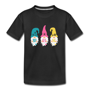 Spring Gnome Toddler Premium T-Shirt - black