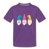 Spring Gnome Toddler Premium T-Shirt - purple