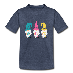 Spring Gnome Toddler Premium T-Shirt - heather blue