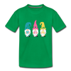 Spring Gnome Toddler Premium T-Shirt - kelly green