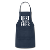Best Mom Ever Adjustable Apron - navy