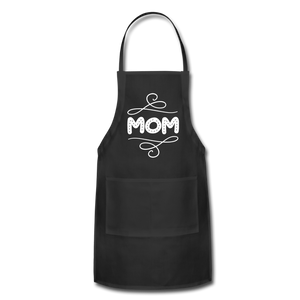 Mom Adjustable Apron - black