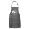 Mom Adjustable Apron - charcoal