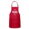 Mom Adjustable Apron - red