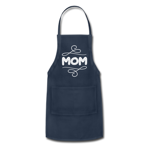 Mom Adjustable Apron - navy