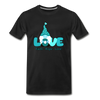 Gnome Faith Hope Love Premium T-Shirt - black