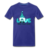 Gnome Faith Hope Love Premium T-Shirt - royal blue
