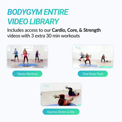BodyGym App & Our Entire Workout Library