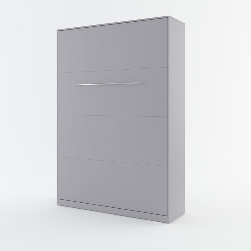 CP-01 Vertical Wall Bed Concept Pro 140cm with Storage Cabinets
