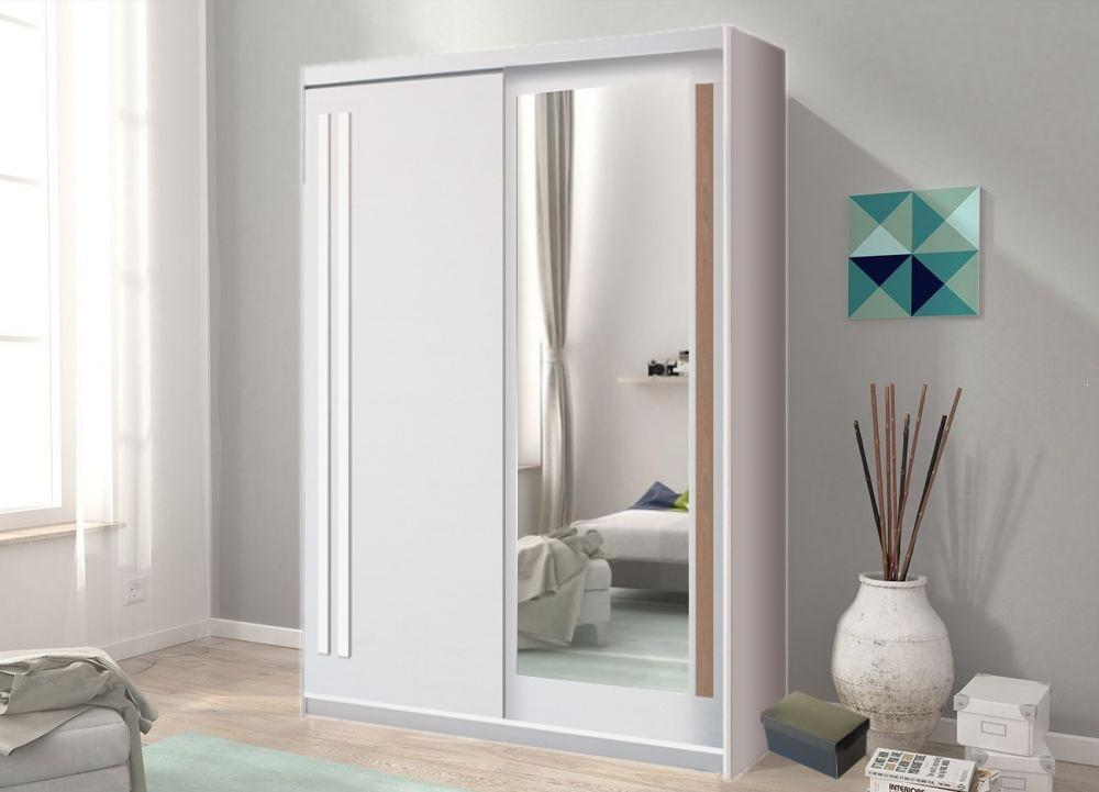 Effect 2 Sliding Door Wardrobe 150cm