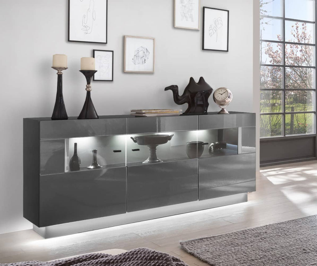 Denira 84 Display Sideboard Cabinet