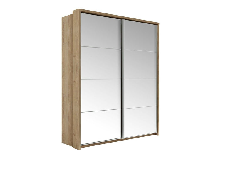 Arti 17 - 2 Sliding Door Mirror Wardrobe 180cm