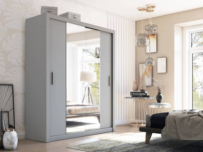 Idea 03 - 2 Sliding Door Wardrobe 180cm