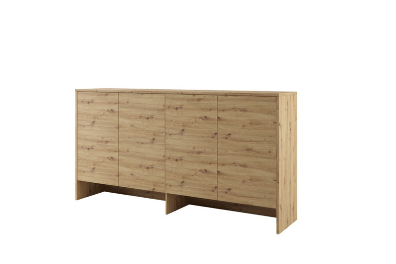 BC-06 Horizontal Wall Bed Concept 90cm With Storage Cabinet