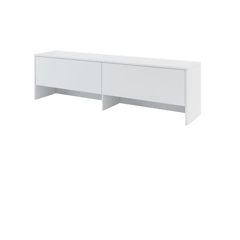 BC-04 Horizontal Wall Bed Concept 140cm With Storage Cabinet
