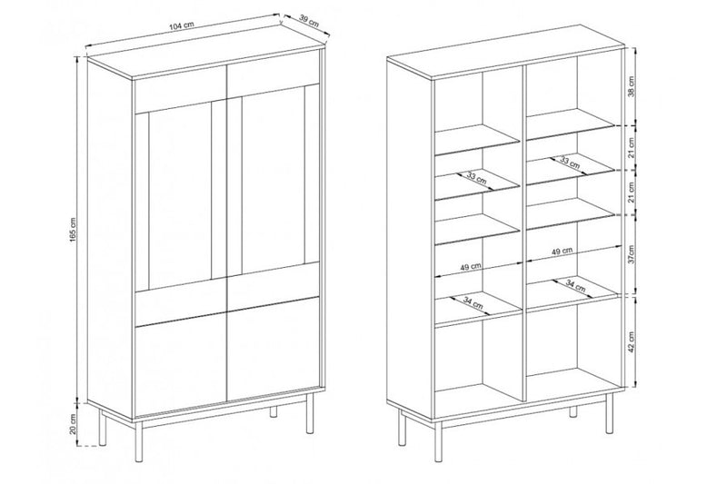 Basic Display Cabinet
