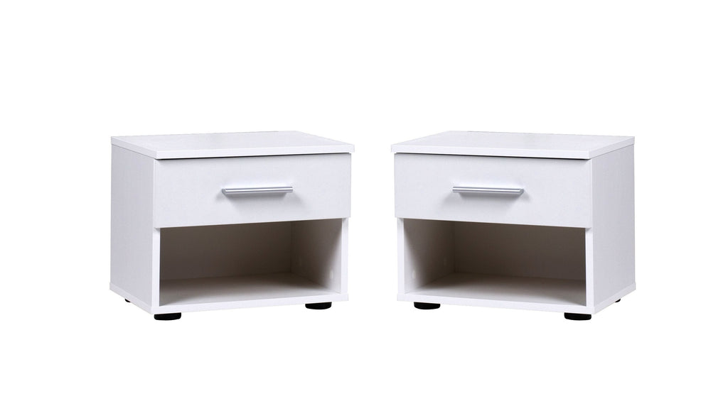 Como Set of 2x Bedside Cabinets
