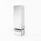 Claro CR-01 Mirror Wardrobe in White Matt/Riviera Oak