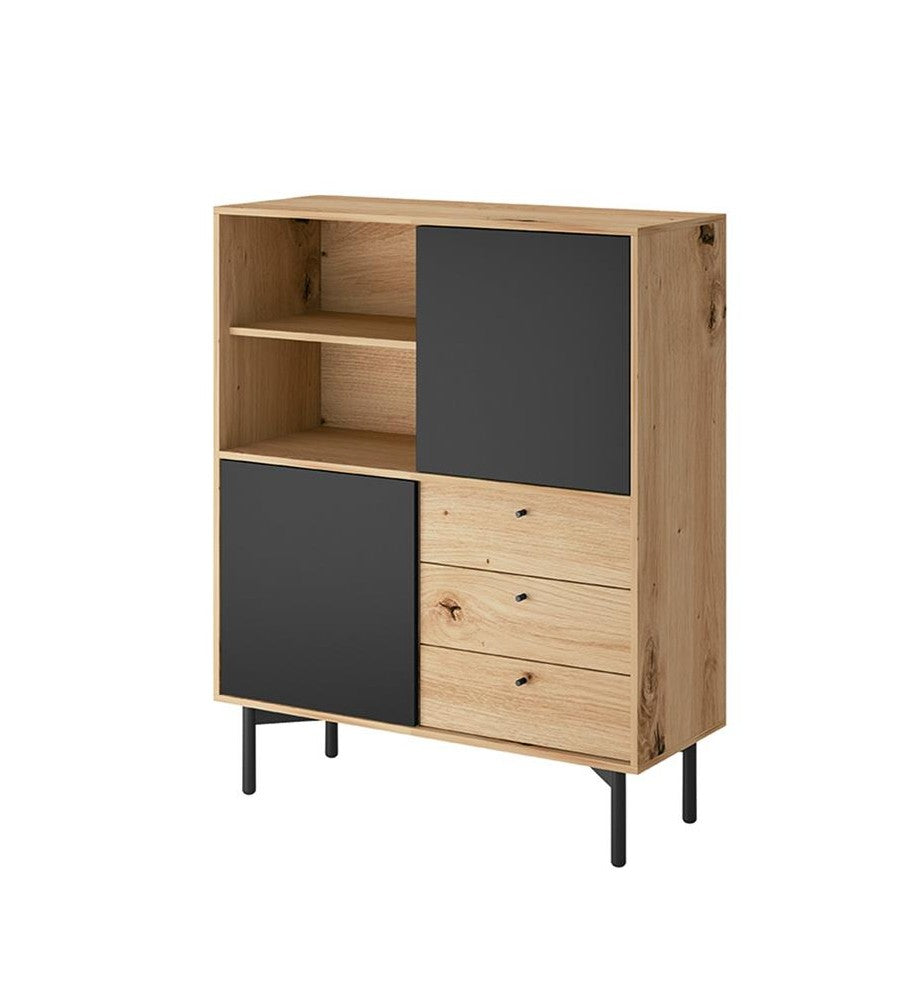 Flow Tall Sideboard Cabinet