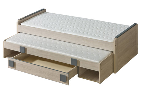 Gumi G16 Trundle Bed with Storage