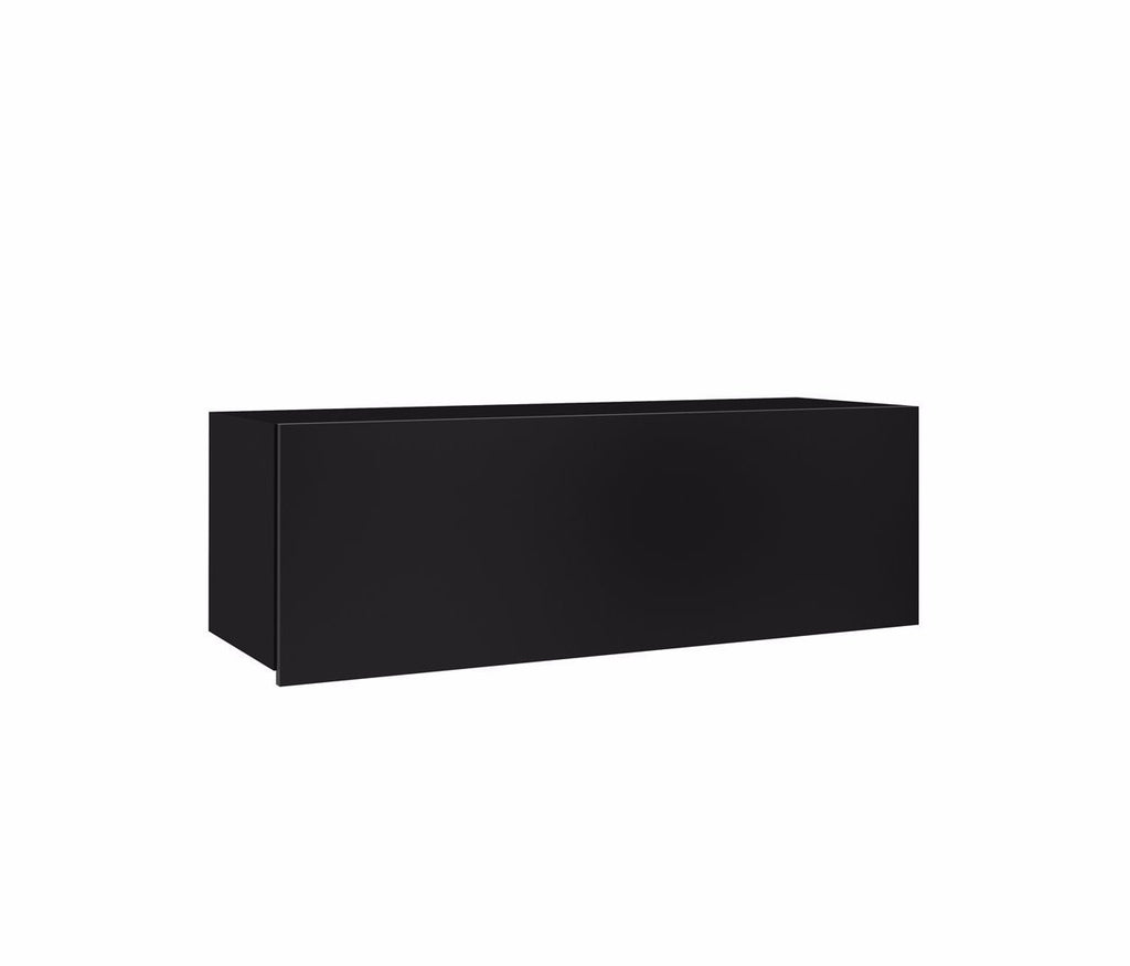 Calabrini Wall Cabinet in Black Gloss
