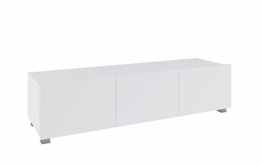 Calabrini TV Cabinet 150cm in White Gloss