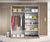 Galaxy H 2 Sliding Door Wardrobe