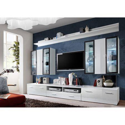 Iceland Gloss Wall Unit in 2 Colours