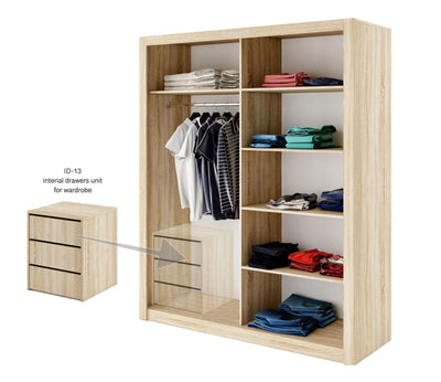 Idea ID-13 Universal Internal Drawer Unit For Wardrobe