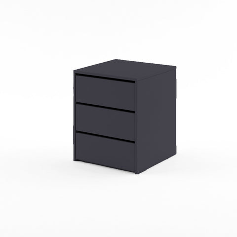 Idea ID-13 Universal Internal Drawers Unit For Wardrobe in Black Matt