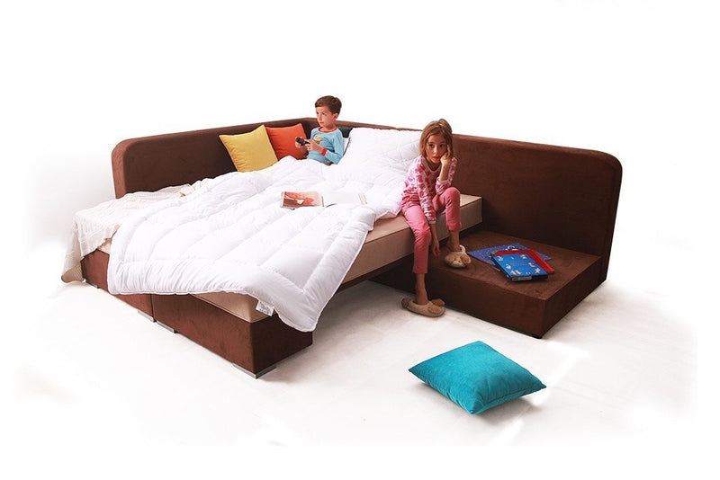 Brico Extending Corner Sofa Bed