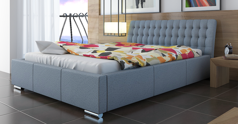 TOP-10 Upholstered Bed Frame 3 Sizes