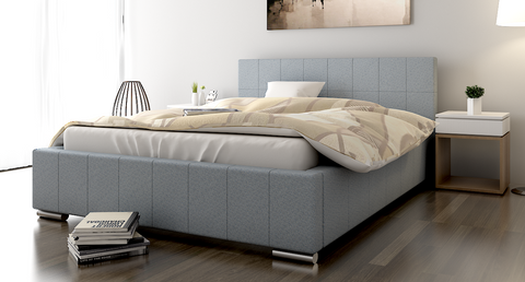 TOP-1 Upholstered Bed Frame 3 Sizes