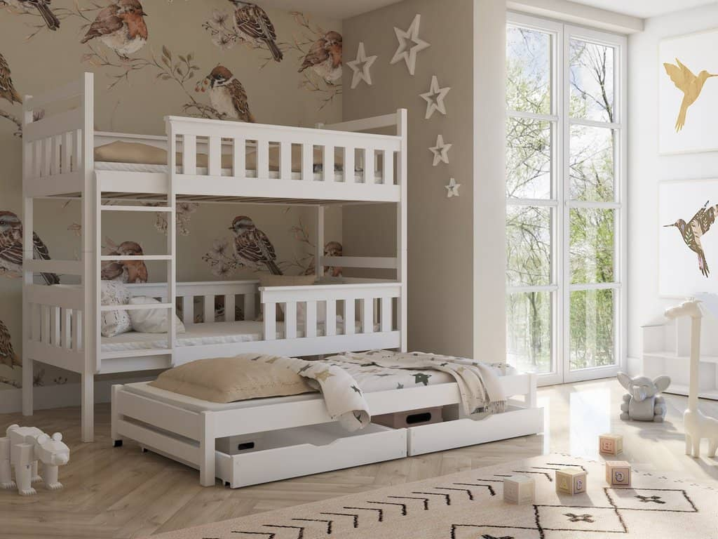 Kors Bunk Bed with Trundle and Storage – Arthauss Furniture