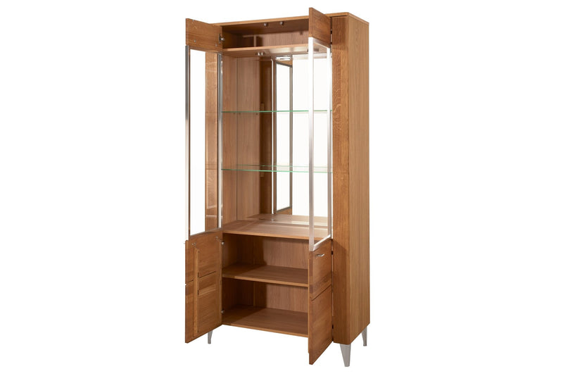 Latina 12 2 Door Tall Display Cabinet